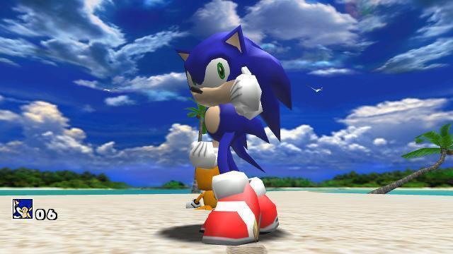 Sonic Photo termina los 90 de una manera hermosa.  © sega
