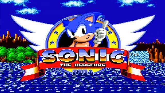 imagina el primer sonic, ¡uno de los videojuegos más de culto de los 90!  © sega