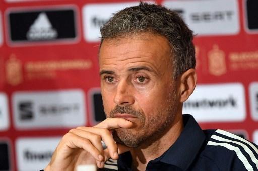 Foto Luis Enrique, seleccionador de España en busca de los éxitos de La Roja el año pasado.  © afp