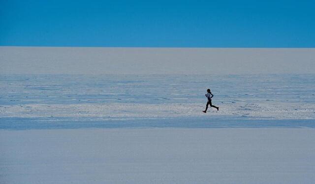 photo stéphanie gicquel Participó en estudios polares.  © dr / stephanie gicquel