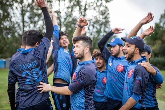 photo Το St Omer Cricket Club αποτελείται από πολλούς Αφγανούς πρόσφυγες.  © soccs κρίκετ / Sophie Rodriguez