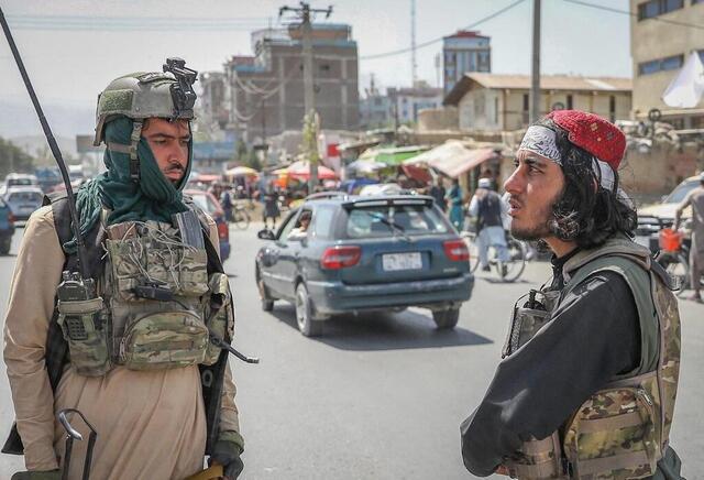 Φωτογραφία Περισσότερα από 20 χρόνια αφότου εκδιώχθηκαν από την εξουσία, οι Ταλιμπάν ανέκτησαν τον έλεγχο της Καμπούλ.  © epa / maxppp