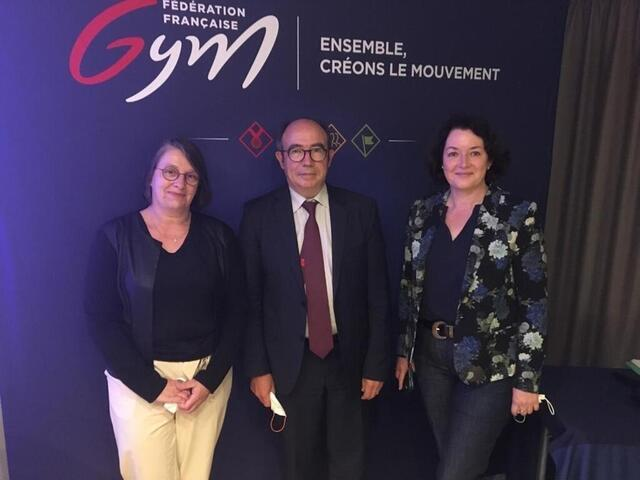 Gymnastic.  Licensees, diversification, ambitions… Replace with the Brittany committee.  Sport